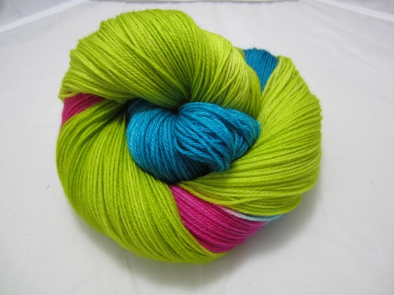 Festive Gratitude - Dyed to Order - Hand Dyed - Merino Wool Yarn - Fingering Weight