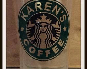 "NEW  32 oz  Classic Acrylic Double Wall Tumbler ' Starbucks Inspired """