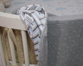 Stroller Blanket ....Custom Made w/ Client's Fabric - Labor Only