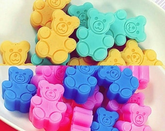 Baby Shower. Mini Teddy Bear Soap Favors. Baby Shower Favors. Baby Shower Boy. Baby Shower Girl. You Pick the Color & Scent.  Rush available