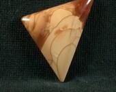 Bruneau Jasper Freeform Cabochon from Idaho 25x37x6mm