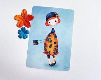 Postcard Daisy