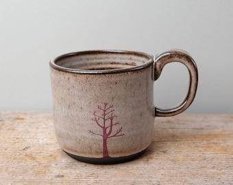 Grey Winter Tree Mug