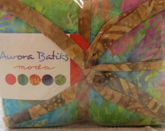 Aurora Batiks  fat quarter bundle - reduced