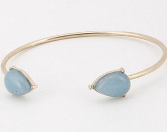 Teardrop Stone Bracelet