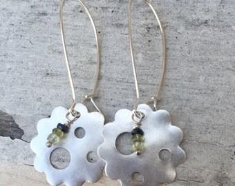 Summer Love Fine Silver Earrings