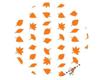Leaf Nail Stickers