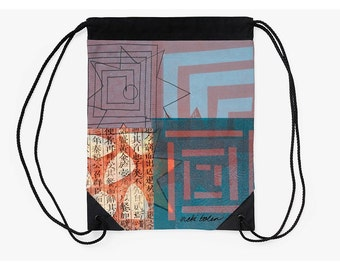 Drawstring Backpack,Cinch Bag,Unique Back to School Supplies,Christmas Gifts for College Students,Going Off to College Gift,Shopping Bag