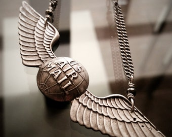 US Air Mail Vintage Necklace