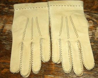 Genuine Deerskin Gloves Size * Unlined Leather Gloves