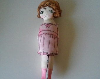 Fabric Rag Doll,Cloth Rag Doll