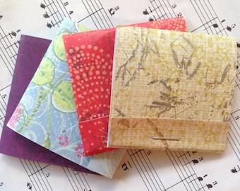 Little Lovelies - Matchbook Notepads, Set of 4