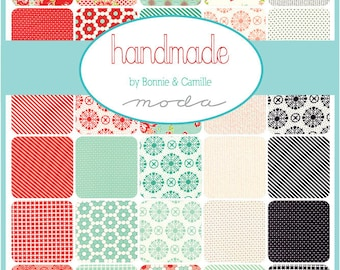 SALE!! - Handmade (55140AB) by Bonnie and Camille - Fat Quarter Bundle