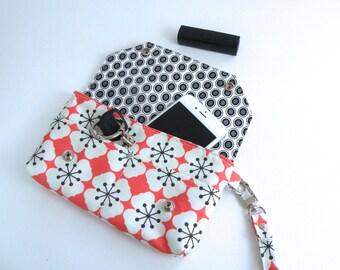 Wristlet / Wallet / Floral Wallet / Organizer / Clutch