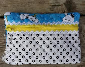 Snoopy Zipper Pouch
