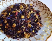 Happy Witch Tea Blend, Loose Leaf Tea, Black Tea, Autumn Tea, Halloween Tea, Wedding Favor, Shower Favor, Tea Party Gift