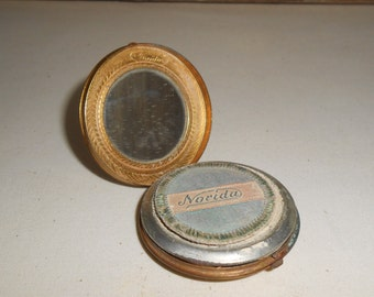 Vintage Norida Powder Compact, Vintage Make Up Compact