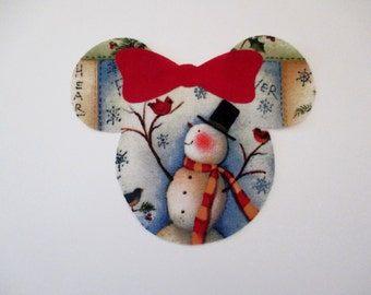 Minnie Iron On Appliques Large 6""