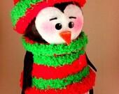 The Pot n' Penguin Christmas sweater penguin
