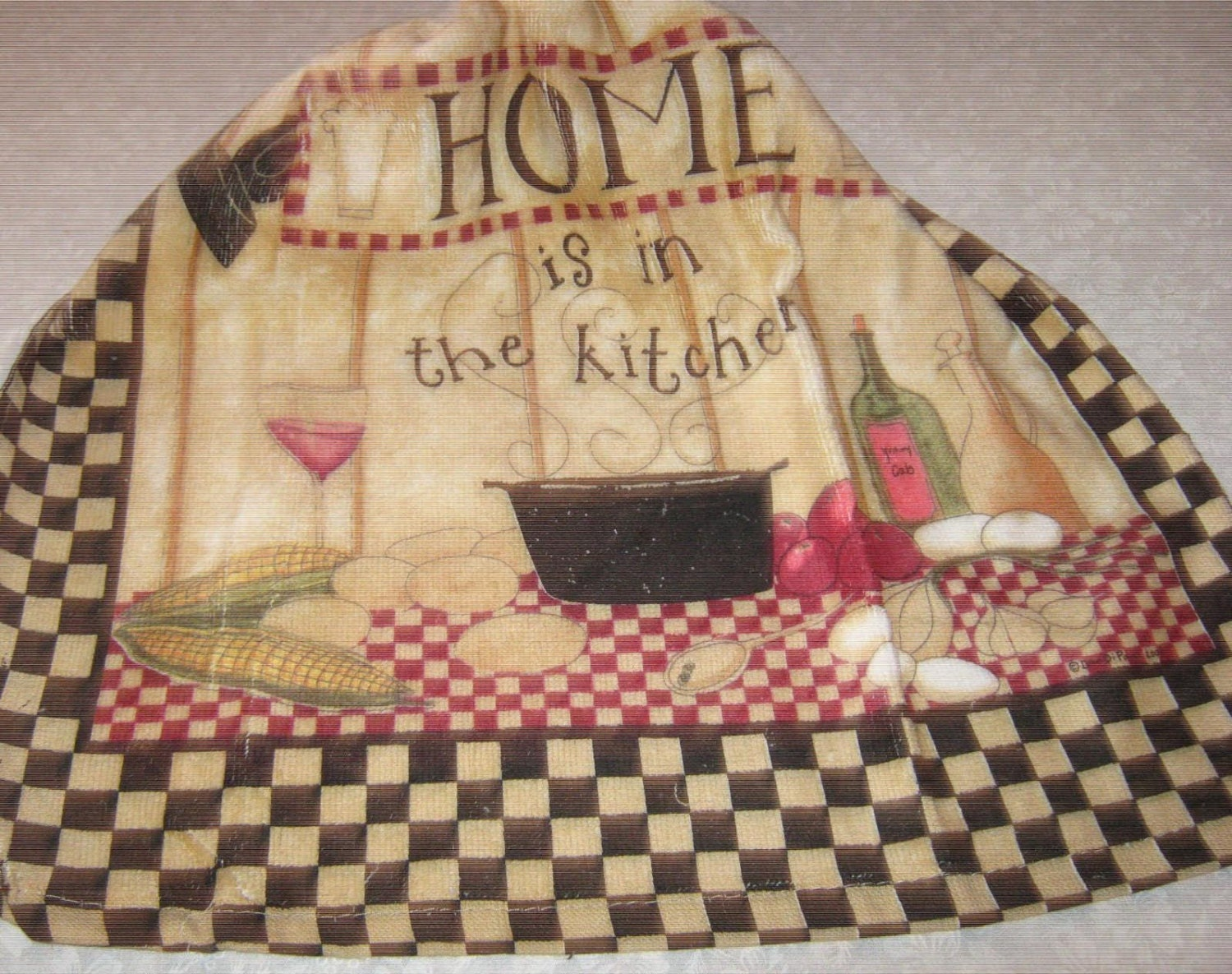 Crochet kitchen hanging towel kay dee design home is in the Kay dee designs kitchen towels