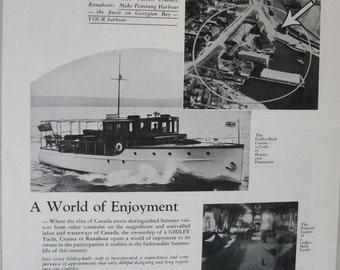 111  Gidley Yachts - 1930