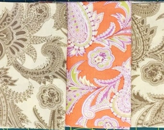 Amy Butler Temple Flowers Floral fabric | Cotton Quilting fabric | Last pieces