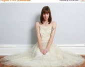 ON SALE 2Pc Lace Party Dress . Butter Yellow