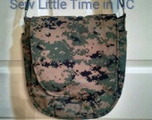 USMC MARPAT or Army ACU Swoon Sandra Saddlebag Crossbody Purse