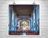 California Missions, Church Architecture, Oceanside California, San Luis Rey, Spanish Mission, California, Catholic, Christian, Wall Picture