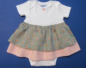 12 Months Baby Girl Liberty of London Onesie Dress