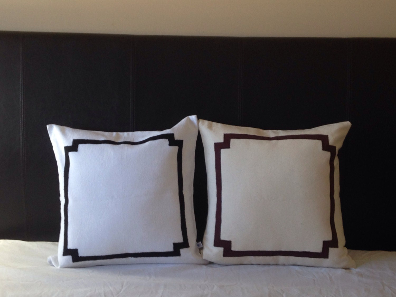 Decorative Pillow Trim : Border Pillows Pillows with trims Custom Border Pillows