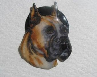 Dalton Boxer Dog Pin Pendant