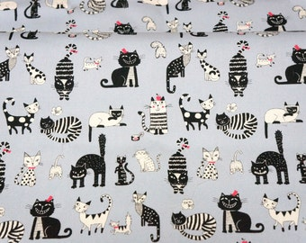 Cat print Half meter nc43