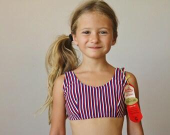 NOS, 1960s Patriotic Bikini >>> Size 7/8