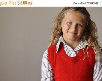 ON SALE 1970s Classic Stripe Blouse >>> Kids Size 8/10