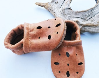 Tribe Brown Sandals Soft Soled Leather Shoes Baby and Toddler Free Shipping in US