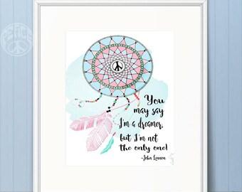 Peace Dreamer Print