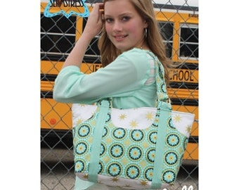 Tiny Seamstress ~ Pocket Full Bag Purse Tote Pattern