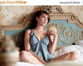 ON SALE Lingerie set  Babydoll and Panty Organic Cotton and Soy set Lingerie, Underwear ,Organic Nightwear, slip,babydoll nightie honeymoon