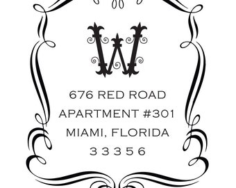 Return Address Stamp Style #9