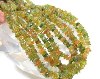 25% Off SALE Rare Intense Chrome Green Rare Gold Tourmaline Raw Rough Nugget Beads 1/2 Strand Transparent