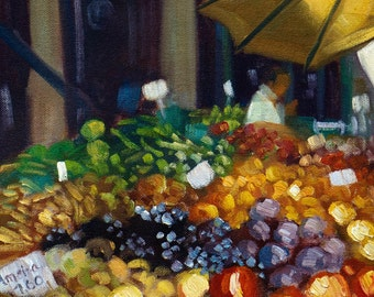 Funchal Fruit Market II Madeira Island - Giclee Print - EKH005