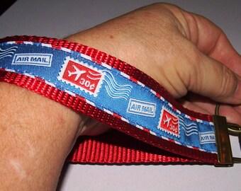 Airmail-Postal KEY FOB Wristlet