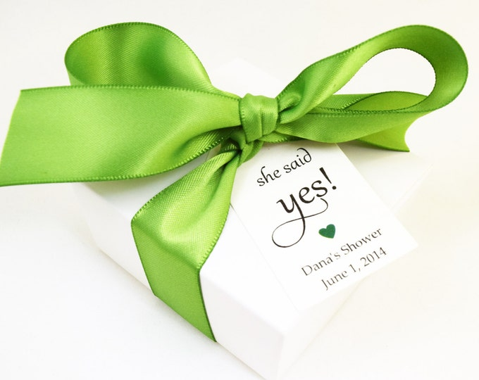 SOAP FAVORS - bridal shower favors, wedding favors, vegan favors, green favors, party favors, gifts
