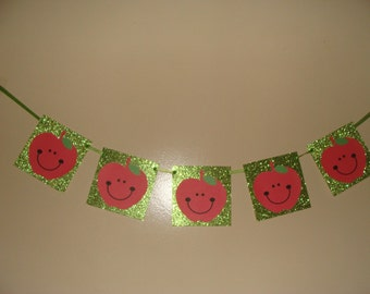 Happy Apples Banner Made To Order