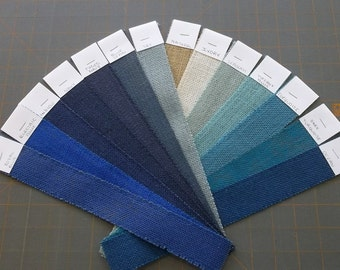 ELECTRIC BLUE Burlap FABRIC By the Yard - 58 - 60 inches wide