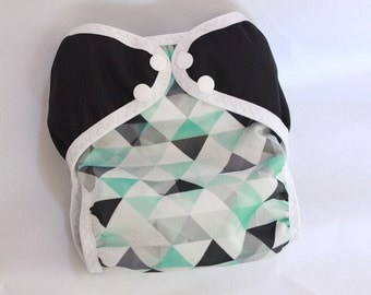 CUSTOM / diaper cover/waterproof/ cloth diaper cover /wrap/ leg gussets/ snaps or velcro