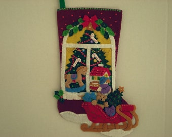 Christmas Window Stocking