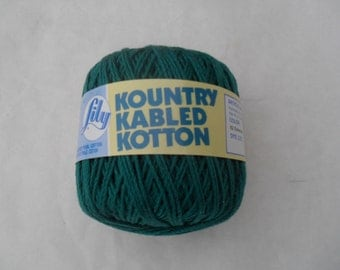 Lily Kountry Kabled Kotton Emerald