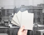 Recycled Notepad - Set of Four - Salvaged Papers - Assorted - Free Shipping
